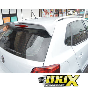VW Polo 6 Oettinger Style Plastic Roof Spoiler (Unpainted)