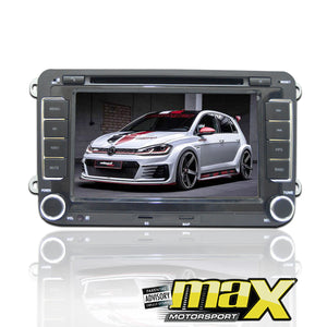 "VW 7"" DVD Entertainment & GPS Navigation System"