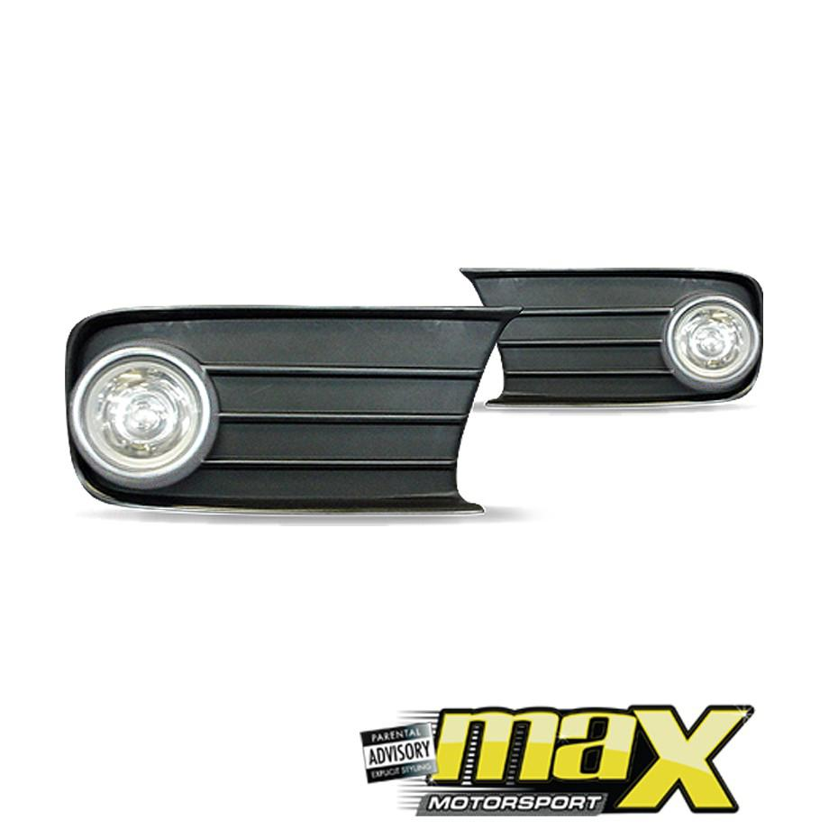 Toyota Tazz (01-On) Fog Lamps With Grilles & Chrome Ring maxmotorsports