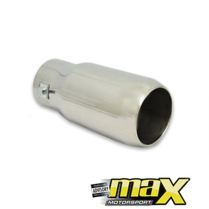 Universal Single Exhaust Tailpipe (65mm Outlet)