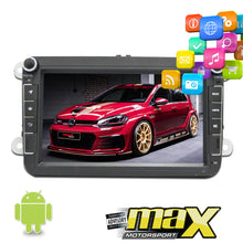"Load image into Gallery viewer, VW 8"" Android DVD Entertainment & GPS Navigation System"