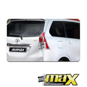 Toyota Avanza (12-On) Chrome Tail Light Surround