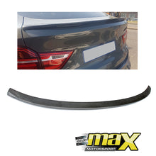 Load image into Gallery viewer, BM F26 X4 Carbon Fibre Performance Style Boot Spoiler