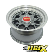 Load image into Gallery viewer, 17 Inch Mag Wheel - BBS RS2 Wheel With Spikes (4x100/114.3 PCD)