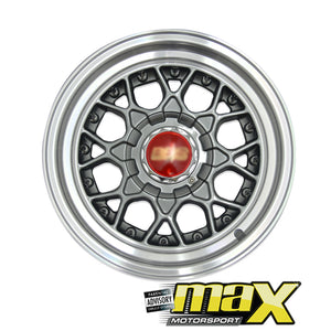 17 Inch Mag Wheel - BBS RS2 Wheel With Spikes (4x100/114.3 PCD)