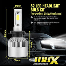 Load image into Gallery viewer, C6 LED Headlight Bulb Kit - H11