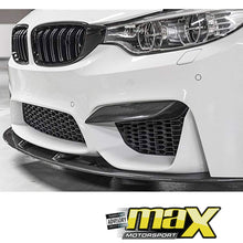 Load image into Gallery viewer, BM F80/F82 (M3/M4) Carbon Fibre Upper Front Splitter