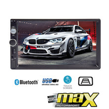"Load image into Gallery viewer, 7"" Touch Screen Double Din Mp5 Multimedia Player"