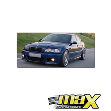 Load image into Gallery viewer, BM E46 3-Series 4Dr (99-05) M3 Style Plastic Front Bumper