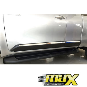 Toyota Hilux Revo (16-On) Extra Cab Door Mouldings