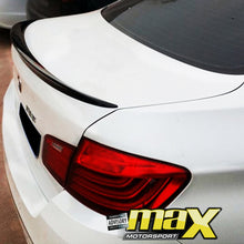 Load image into Gallery viewer, BM F10 M5 Performance Style Gloss Black Plastic Boot Spoiler (11-14)