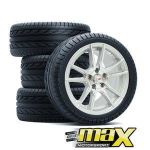 15 Inch Inforged MX7017 Wheel & Tyre Combo (5X100 PCD)
