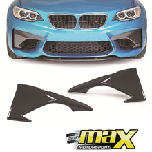 Load image into Gallery viewer, BM F87 M2 Carbon Fibre Upper Front Spoiler