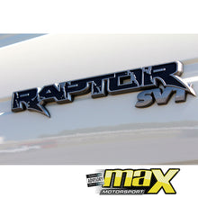 Load image into Gallery viewer, Universal Raptor SVT Emblem Badge