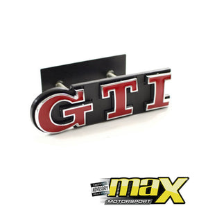 VW  GTI Grille Badge
