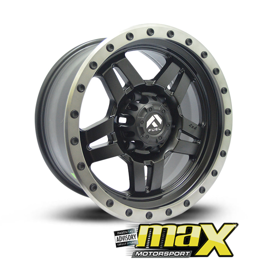 17 Inch Mag Wheel - MX5147 Bakkie Wheels (6x139.7 PCD)