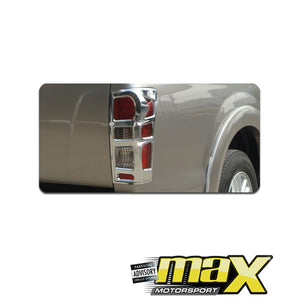 Isuzu D-Max (2013-On) Chrome Tail Lamp Surrounds