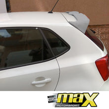 Load image into Gallery viewer, VW Polo 6 Oettinger Style Plastic Roof Spoiler (Unpainted)