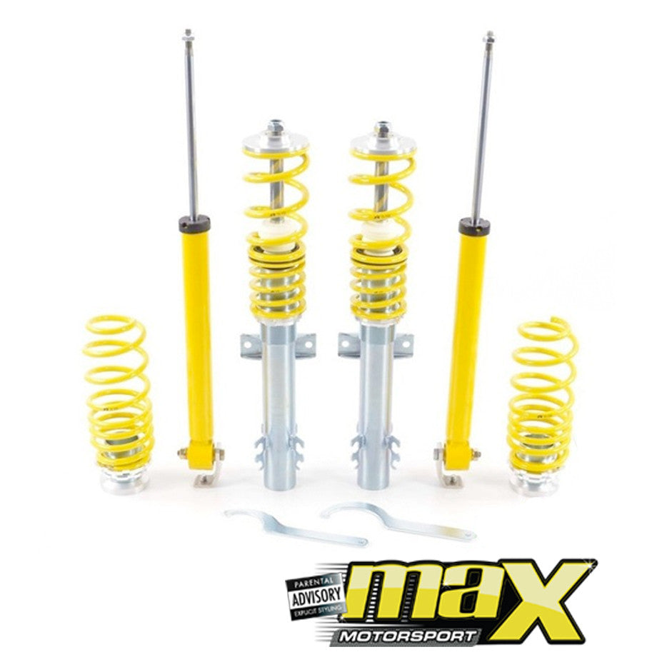FK Automotive Coilover Kit (Height Adjustable) - VW Golf 5 GTI