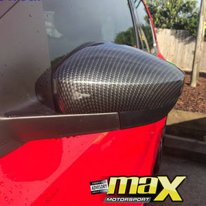 VW Polo 6 Carbon Fibre Mirror Cover