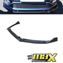 Load image into Gallery viewer, VW Polo 6 / Polo 7 Carbon Look 3-Piece Front Lip Spoiler