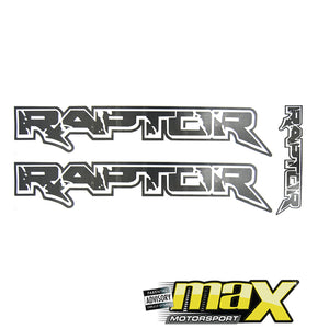 Mini Ranger Raptor Sticker Kit