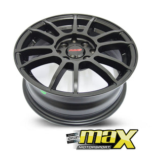 14 Inch Mag Wheel - MX15013 Rays Replica Wheels - (4x100/114.3 PCD)
