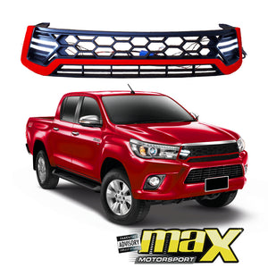 Toyota Hilux Revo (15-18) TRD Grille With DRL LED