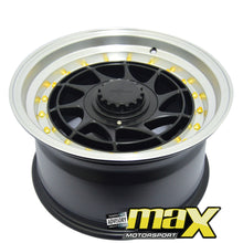 Load image into Gallery viewer, 15 Inch Mag Wheel - RF YVR Replica Wheel (4x100/114.3 PCD)