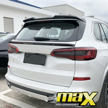 Load image into Gallery viewer, BM X5 G05 Series (19-On) Carbon Fibre Rear Middle Spoiler
