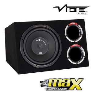 "12"" Vibe Slick Hybrid Vented Bass Enclosure (1200W)"