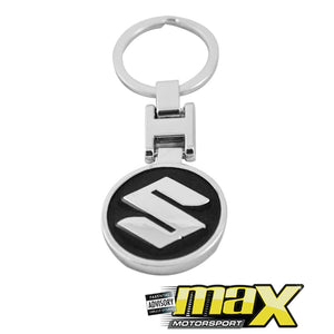 Suzuki Branded Chrome Key Ring