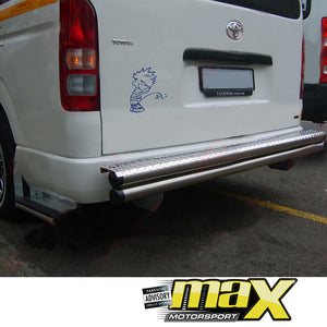 Toyota Quantum - Rear Double Pipe Step Bar