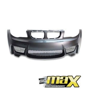 1 Series E82/ E87 (05-On) 1M Plastic Front Bumper Upgrade