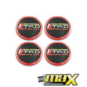 Universal TRD Wheel Decal Sticker