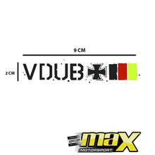 Load image into Gallery viewer, Universal V-DUB Sticker