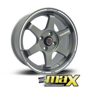 15 Inch Mag Wheel - Volk MX5019 Racing Replica Wheels (4x100 PCD)