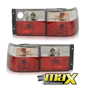 VW Jetta Mk3 Semi Clear Diamond Taillights