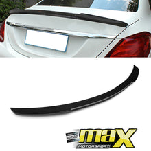 Load image into Gallery viewer, Merc W205 M4 Style Carbon Fibre Boot Spoiler