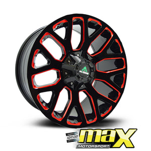 18 Inch Mag Wheel -  MX1881 Bakkie Wheel - (6x139.7 PCD)