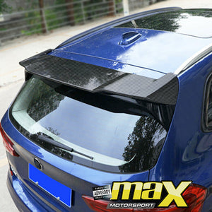 BM X3 G01 (19-On) Carbon Fibre Roof Spoiler