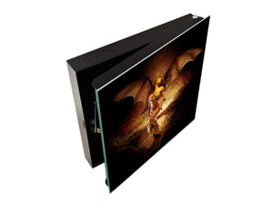 50 Key lock Box storage holder K13 Dragon Queen
