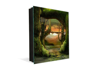 Steel Key Storage Locker K05 Dreamily Forest
