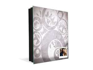 Wall Mount Key Box together with Decorative Dry Erase Board K14 Worldly motives: Wheel of time