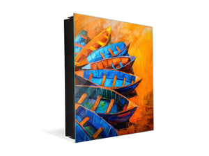 Key Cabinet Storage Box K08 Oil Painting on Canvas