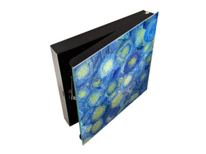 Key Cabinet Storage Box K01 Abstract Van Gogh
