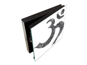 Wall Mount Key Box together K12 Omkara symbol
