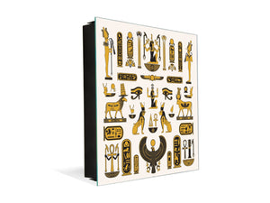 Wall Mount Key Box together K12 Ancient Egyptian symbols