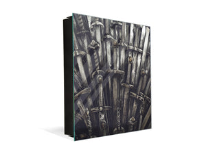 50 Keys Cabinet and Dry Erase Board in ONE K05 Game of Thrones Swords
