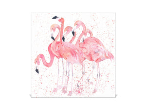 Key Storage Box K08 Flamingos with Water